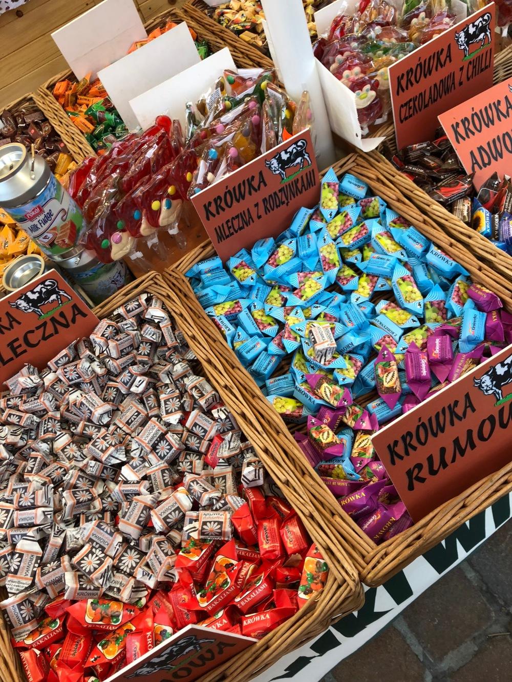 poland street candy