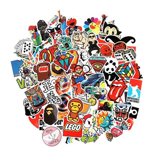 sticker lot